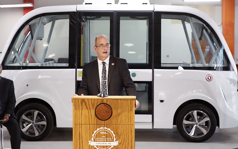 Dr. Rillet on Self Driving Shuttle